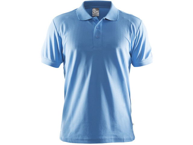 Craft Classic Polo Pique Maillot Hombre, azul